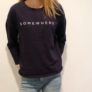 MNG Denim and Tees Somewhere Boxy ASOS Sweatshirt